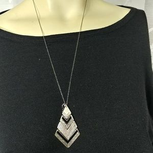 Designers Sterling Silver Pendant Necklace